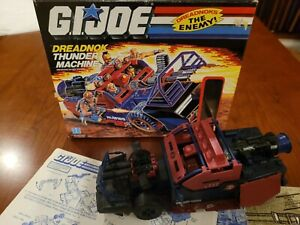GI JOE DREADNOK THUNDER MACHINE Vintage Box & Complete Toy  HASBRO