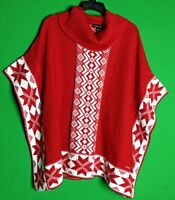 Black Rivet with Red/White Snowflake Size S/M