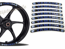 Motorcycles Wheel Decal Yamaha Racing Rim Vinyl Stickers Stripe Fuel Tank Motor
