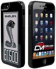 Cases Covers Skin for Apple iPhone 5 BLACK SHELBY Cobra GT 500 Black White Gray