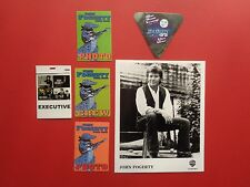 JOHN FOGERTY,promo photo,5 different  Backstage passes,RARE Originals