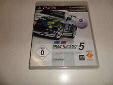 PlayStation 3 gran turismo 5 Academy Edition