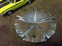 "x1 Performance Wheels Chrome Custom Wheel Center Cap Part # BR520 17"" 18"" & 20"""
