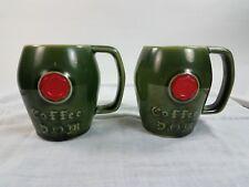 Vintage McCoy Coffee Cup Mug  D O M Liqueur Benedictine Promos Lot of 2