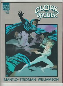Marvel Graphic Novel Cloak & Dagger Predator & Pray #34 1988 Mint Hi-Res Scans