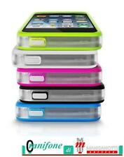 Cover Bumper per Apple iPhone 5c trasparente Nero Bianco Rosa originali Vodafone