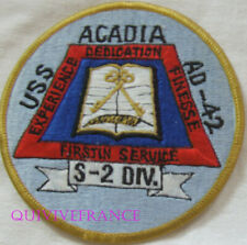 PUS492 - US NAVY USS Acadia AD 42 S2 Division Patch
