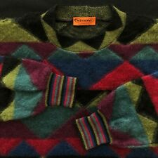 vintage MISSONI multicolored mohair sweater IT size 48 Made in Italy