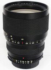 Isco Iscorama 2001 MC f/1.8 Nikon AiS lente anamórfica enfoque manual