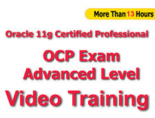 Oracle 11g Certified Professional OCP Advanced Level Video Training Tutorial CBT