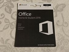 Microsoft Office 2016 Home & Student BRAND NEW GZA-01017