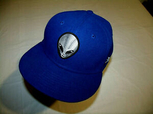 Las Vegas 51s MiLB All Blue Hat New Era 59Fifty Fitted 7 1/4 Defunct Aviators