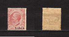 #1335 - Colonie, Libia - 10 cent, 1912 - Nuovo (** MNH) / Varietà