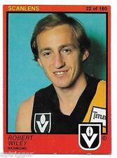 1982 Scanlens (22) Robert WILEY Richmond