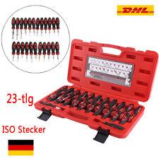 23tlg Entriegelungswerkzeug Set Auspinwerkzeug ISO Stecker für VW Opel BMW Fiat