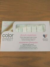 Color Street French Manicure Meet Me in Paris Polish Strips - Free Ship in Env