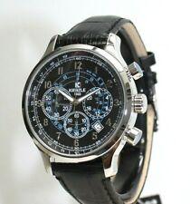 KIENZLE Herrenuhr - Chronograph, Leder Armband 5BarW.R.