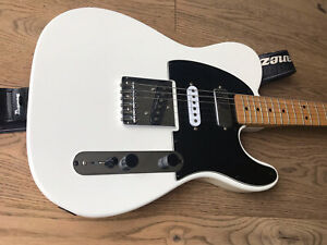 Fender Squier Vintage Modified Tele SSH, Olympic White, Made in India 2009