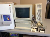 Vintage Apple IIGS Woz Edition Computer + System Saver w/ Box + Foam