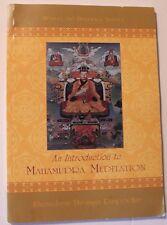 USED RARE An Introduction to Mahamudra Meditation Khenchen Thrangu Rinpoche
