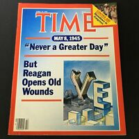 VTG Time Magazine April 29 1985 - Ronald Reagan / Contra Aid Showdown Congress
