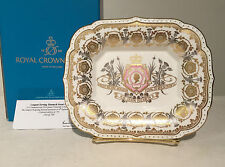 Royal Crown Derby Queen Elizabeth II Longest Reigning Monarch Tray