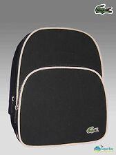 LACOSTE Backpack Rucksack Bag Classic 2.18 Canvas Black