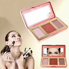 Too Faced Sweet Peach Glow Blush Pink Palette Highlight Lasting Warm Color