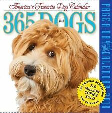 365 Dogs Page a Day Desk Calendar, 2018 Assorted Dogs by Workman Publishing