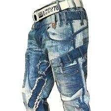 Cipo & Baxx Brighton señores jeans denim Straight Cut azul cd240 todos talla nuevo