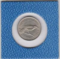 6 pence Neuseeland 1964 Hula Vogel hula bird NZL New Zealand