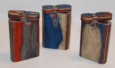 Small Wooden Dugout With Metal Cig, Assorted Designs, Buy 3 Get 1 Free