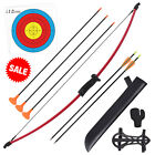 10LB Straight Bow and Arrow Set for Children Youth Archery Bow Hunting Practice