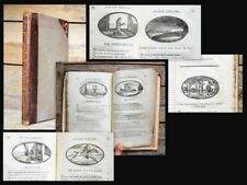 1806 emblema children's book for boys and girls sin Morality Bunyan 49 Woodcuts