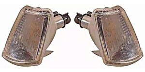 1990-1998 Peugeot 205 Turn Signals Corner Lights PAIR LEFT + RIGHT Side