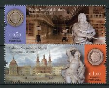 Portugal 2017 MNH National Palace of Mafra 2v Set Art Architecture Stamps