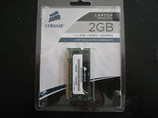 Corsair 2GB DDR2 800MHz SODIMM Laptop Notebook RAM