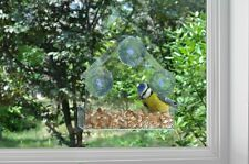 Ambassador Wild Bird Transparent Perspex Window Bird Feeder Station Viewing Box