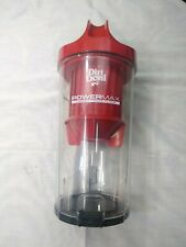 Dirt Devil UD70161 Red Upright Vacuum Cleaner canister