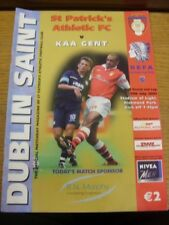 13/07/2002 St Patricks Athletic v Gent [UEFA InterToto] . Thanks for viewing thi