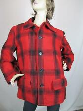 Vintage Soo Wool Bird Hunting/Lumberjack/Buffalo Plaid Jacket unisex L