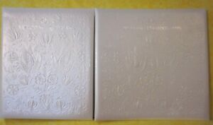 Vintage Hallmark Our Wedding Keepsake & Wedding Photographs books. set of 2