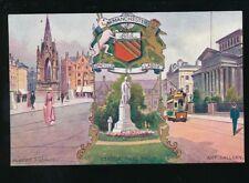 Lancs Lancashire MANCHESTER Albert Sq Peel Park Art Gallery artist c1900/10s?PPC