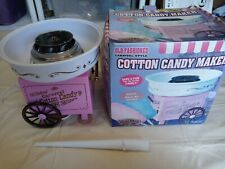 Old Fashioned Electric Cotton Candy Machine Carnival Maker Party Nostalgia