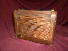 Philco model 46-350 roll top portable radio