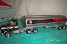 "Ertl Texaco Gas Tanker Semi-Truck Pressed Steel Toy 20 "" Long"