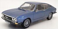 KK Scale 1/18 Scale Model Car IR1310A - 1970 Audi 100 Coupe S - Met Blue