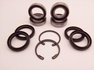 '00-'02 KTM 520 EXC Front & Rear Wheel Bearing & Seal Kit