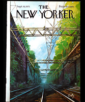 The New Yorker COVER ONLY September 18 1971 | Cover By: Arthur Getz Trains