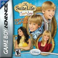 The Suite Life of Zach and Cody Tipton Caper Game Boy Advance Game Used
